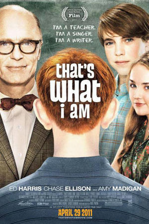 """Poster art for """"That's What I Am."""""""