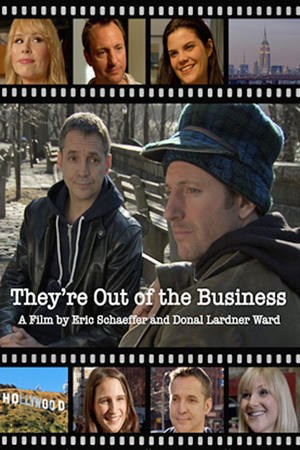 "Poster art for ""They're Out of the Business."""