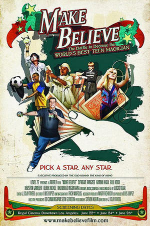"Poster art for ""Make Believe."""