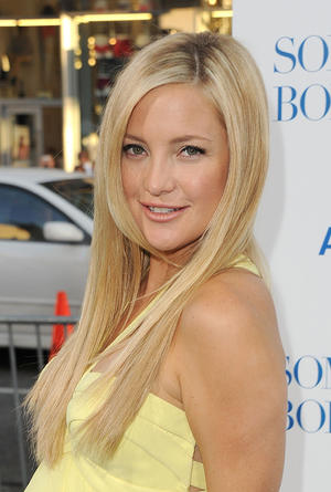 "Kate Hudson at the premiere of ""Something Borrowed."""