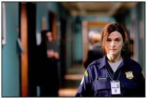 "Rachel Weisz as Kathy Bolkovac in ""The Whistleblower."""