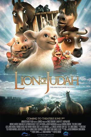 """Poster art for """"Lion of Judah."""""""