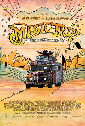 "Poster art for ""Magic Trip."""