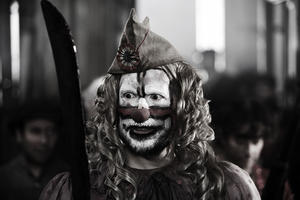 """Santiago Segura in """"The Last Circus."""""""