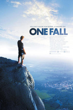 "Poster art for ""One Fall."""