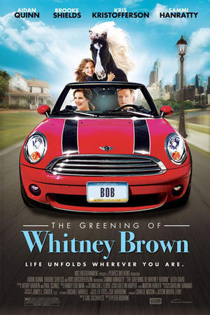 """Poster art for """"The Greening of Whitney Brown."""""""