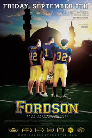 "Poster art for ""Fordson: Faith, Fasting, Football."""