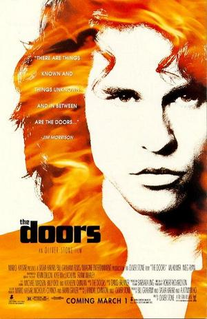 "Poster art for ""The Doors."""