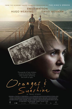 "Poster art for ""Oranges and Sunshine."""