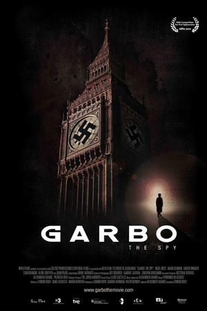 "Poster art for ""Garbo: The Spy."""