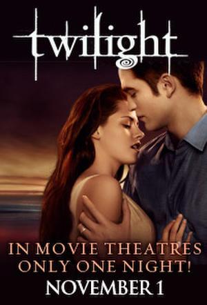"Poster art for ""Twilight Saga Tuesdays: Twilight."""