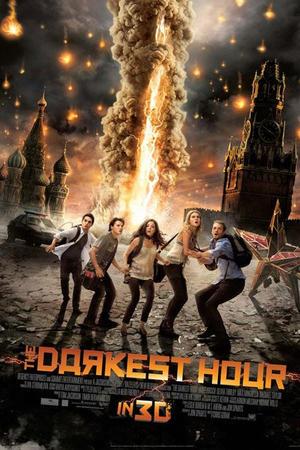 """Poster art for """"The Darkest Hour 3D."""""""
