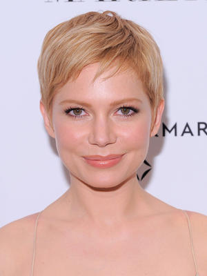 "Michelle Williams at the New York premiere of ""My Week With Marilyn."""