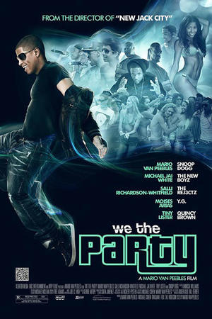 """Poster art for """"We the Party."""""""