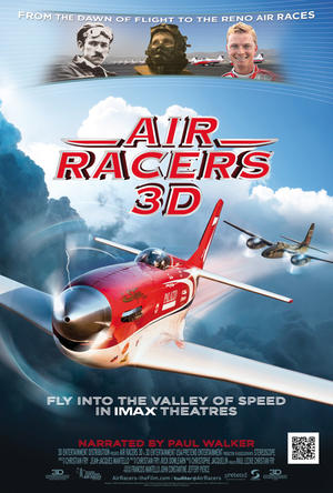 "Poster art for ""Air Racers 3D."""