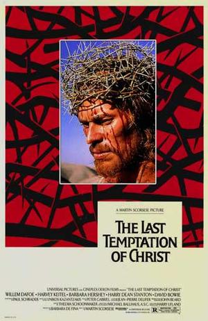 "Poster art for ""The Last Temptation of Christ."""