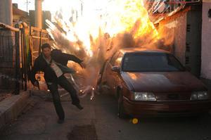 """Scott Adkins in """"El Gringo."""""""