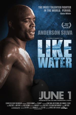"""Poster art for """"Like Water."""""""