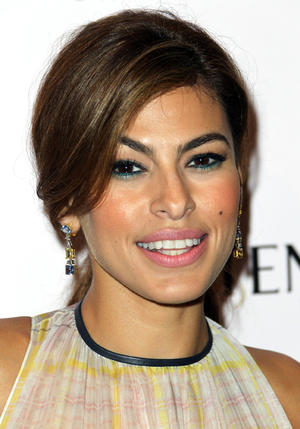 "Eva Mendes at the California premiere of ""Girl In Progress."""