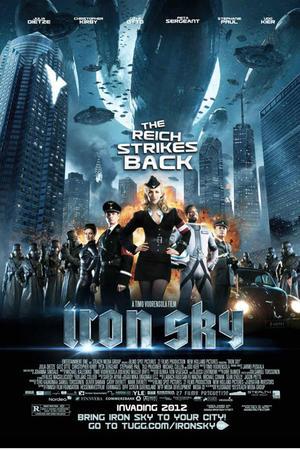 "Poster art for ""Iron Sky."""