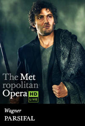 "Poster art for ""The Metropolitan Opera: Parsifal."""