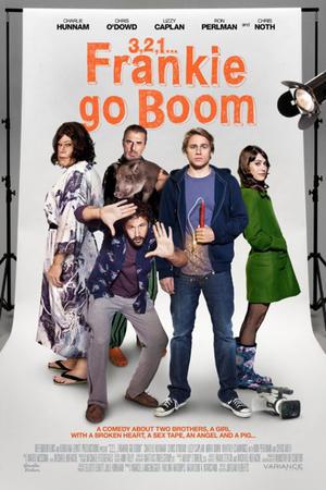 """Poster art for """"Frankie Go Boom."""""""