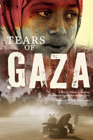 "Poster art for ""Tears of Gaza."""