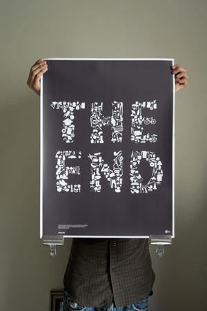 "Poster art for ""The End."""