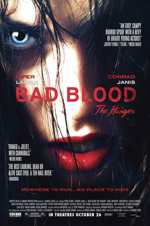 "Poster art for ""Bad Blood: The Hunger."""