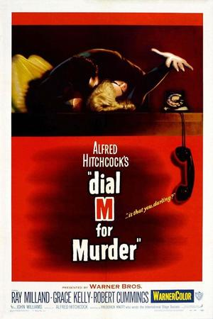 "Poster art for ""Dial M For Murder (in 3D)."""