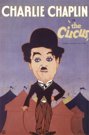 """Poster art for """"The Circus."""""""