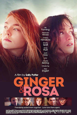 "Poster art for ""Ginger & Rosa."""