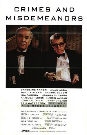 """Poster art for """"Crimes and Misdemeanors."""""""