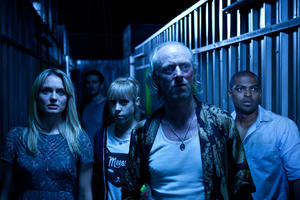 "Laura Haddock, Colin O'Donoghue, Antonio Campbell Hughes, Ned Dennehy and Noel Clarke in ""Storage 24."""