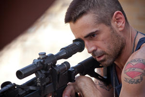 "Colin Farrell as Victor in ""Dead Man Down."""