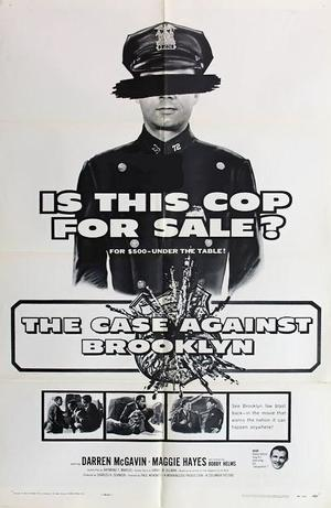 """Poster art for """"The Case Against Brooklyn."""""""