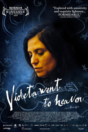 "Poster art for ""Violeta Went to Heaven."""