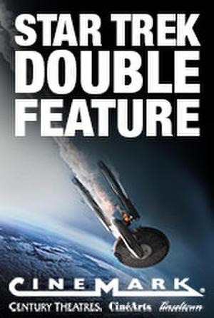 Poster art for Cinemark Star Trek Double Feature.