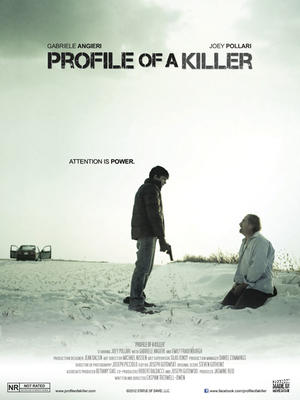 "Poster art for ""Profile of a Killer."""