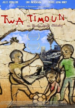 "Poster art for ""Three Kids."""