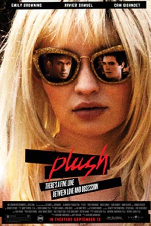 "Poster art for ""Plush."""