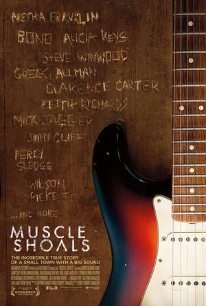 "Poster art for ""Muscle Shoals."""