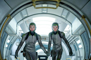 "Hailee Steinfeld and Asa Butterfield in ""Ender's Game."""