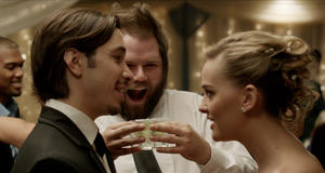 "Justin Long, Tyler Labine and Jess Weixler in ""Best Man Down."""