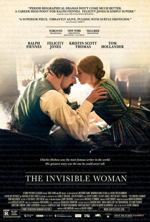 "Poster art for ""The Invisible Woman."""