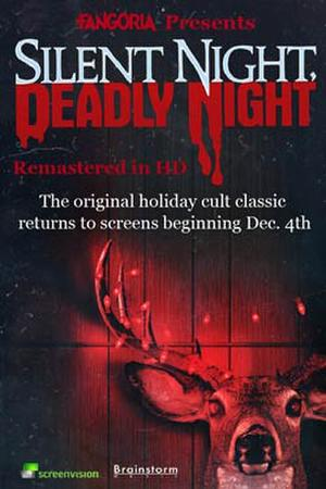 "Poster art for ""Silent Night, Deadly Night."""