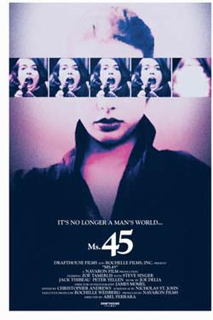 "Poster art for ""Ms. 45."""
