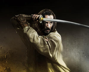 "Keanu Reeves in ""47 Ronin."""