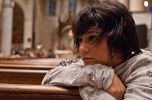 "Vanessa Hudgens in ""Gimme Shelter."""
