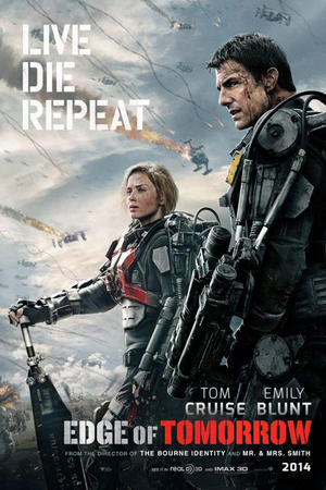 "Poster art for ""Edge of Tomorrow: An IMAX 3D Experience."""